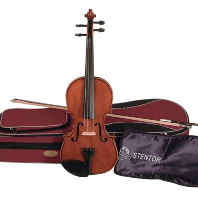 Stentor Student 2 44 Size Violin 1024x818 400x400 - Stentor Student 2 4/4 Size Violin Outfit - Antique Chestnut