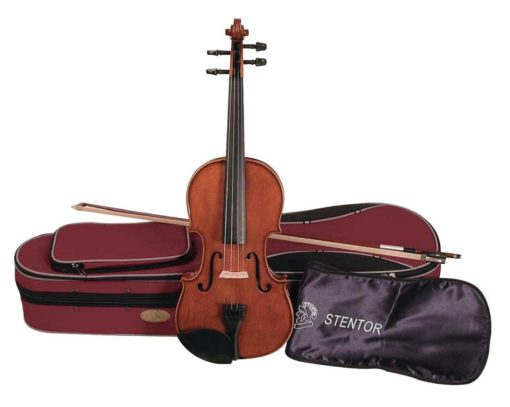 Stentor Student 2 44 Size Violin 1024x818 510x407 - Stentor Student 2 4/4 Size Violin Outfit - Antique Chestnut