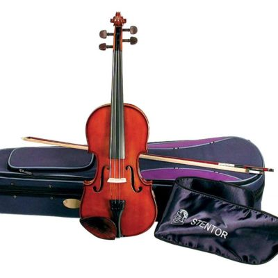 Stentor Student I 44 Size Violin 1024x818 400x400 - Stentor Student I 4/4 Size Violin Outfit - Antique Chestnut