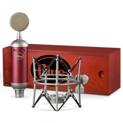blue spark sl  400x400 - Blue Studio Condenser mic with Shockmount and Storage Box