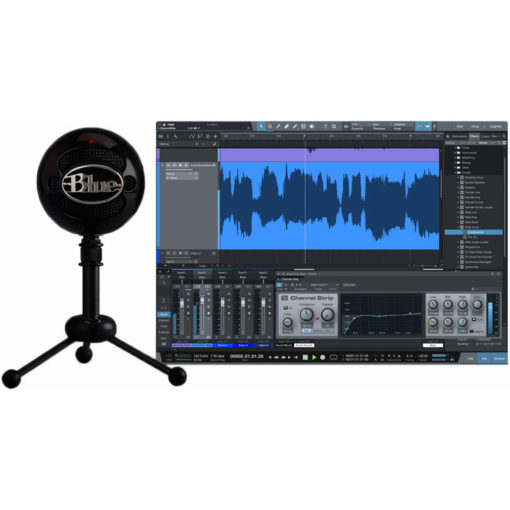 blue snowball studio usb microphone 1281631 510x510 - Blue Snowball Studio Usb Mic with Studio One Artist Recording Software
