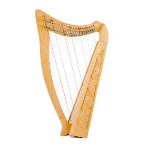 01127B 300x300 - Heather Harp-22 String Carved W/bag