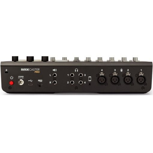 rodecaster pro back view  510x510 - RODE Rodecaster Pro Integrated Podcast Production Console