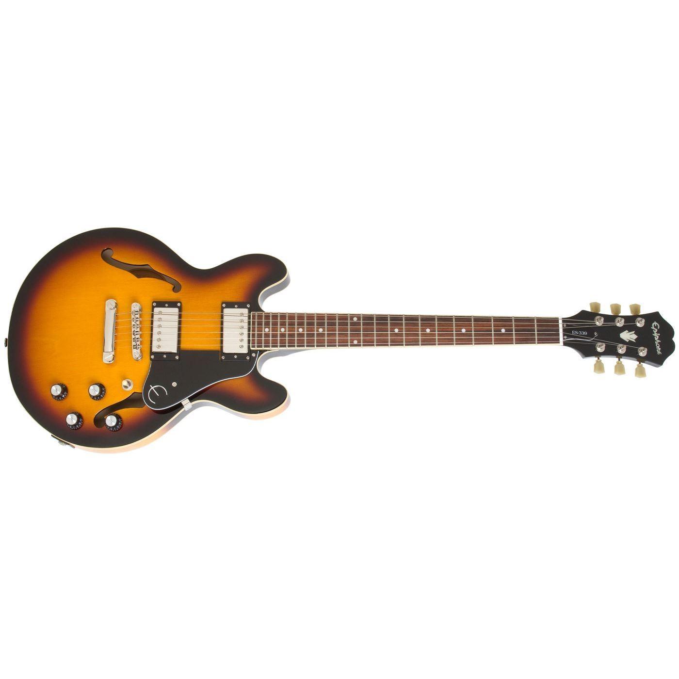 0022585 epiphone es339 electric guitar vintage sunburst - Epiphone ES 339 PRO Vintage Sunburst