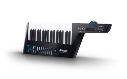 Keytar 2  510x319 - Alesis Vortex Wireless 2: USB/MIDI Keytar Controller