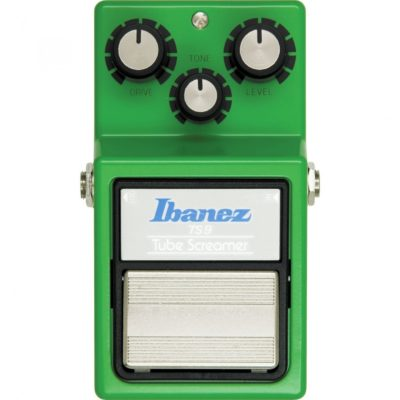 ibanez front on  400x400 - Ibanez TS9 Tube Screamer