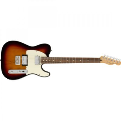 fender tele 3 colour  400x400 - Fender Player Telecaster HH Electric Guitar PF 3-Color Sunburst