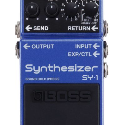 Boss SY 1 Synthesizer 400x400 - Boss SY-1 Synthesizer Effect Pedal