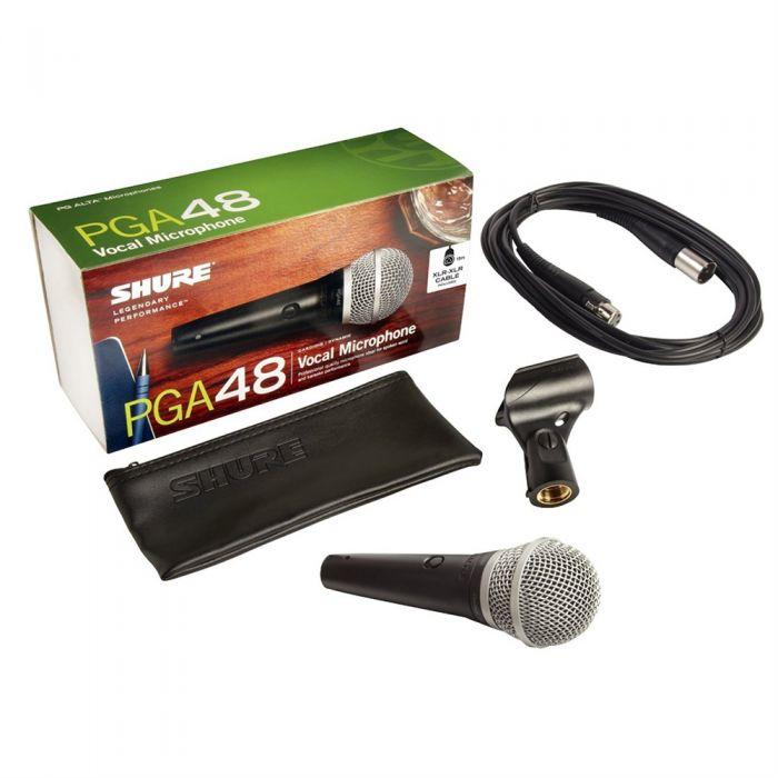 shure pga48 2 - Shure PGA48 w/ XLR Cable