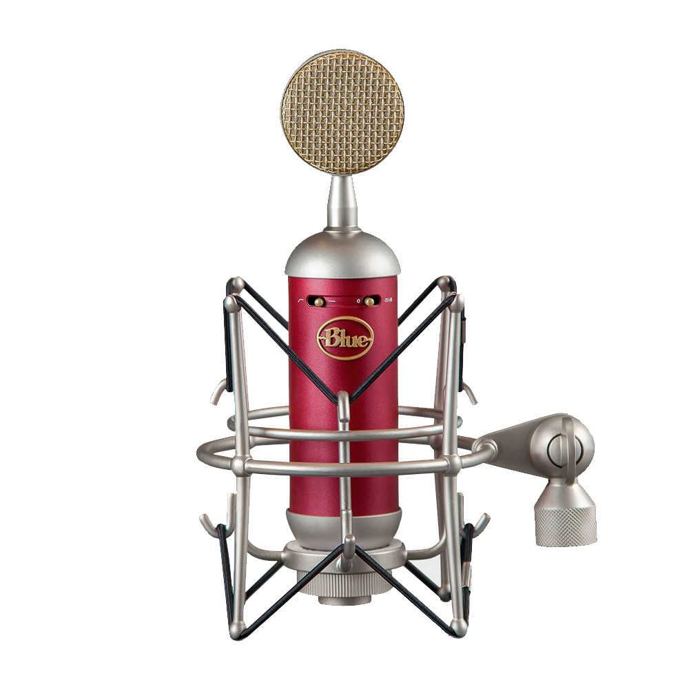 sparksl - Blue Spark Sl - Large Diaphragm Studio Condenser Microphone W/ Shockmount And Storage Box