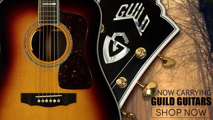guild guitars banner - Guild Starfire V Cherry Red