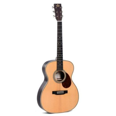 product image of the front of the sigma omc24 acoustic guitar