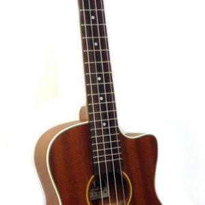 ohana baritone ukulele from front