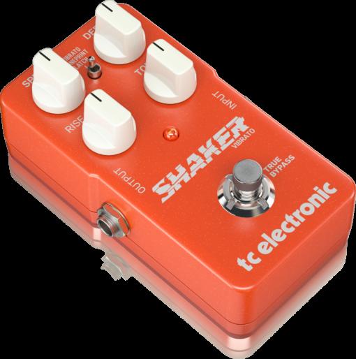 SHAKER VIBRATO P0DDM Left XL - TC Electronic Shaker Vibrato Effects Pedal
