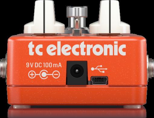 SHAKER VIBRATO P0DDM Rear XL - TC Electronic Shaker Vibrato Effects Pedal