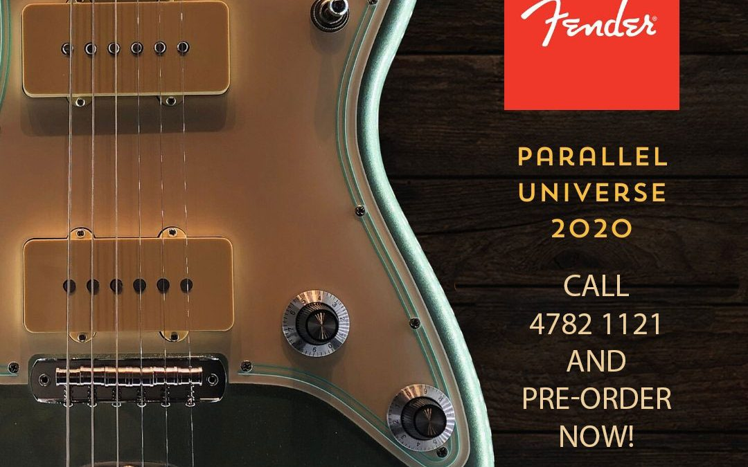First Look: Fender's 2020 Parallel Universe Series