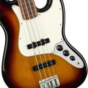 0149933500 gtr frtbdydtl 001 nr 300x300 - Fender Player Series Fretless Jazz Bass (Sunburst)