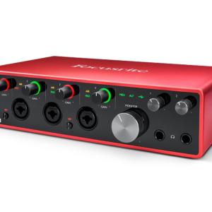 Scarlett 18i8 3quart right LR 300x300 - Focusrite Scarlett 18i8 USB Audio Interface (Gen 3)
