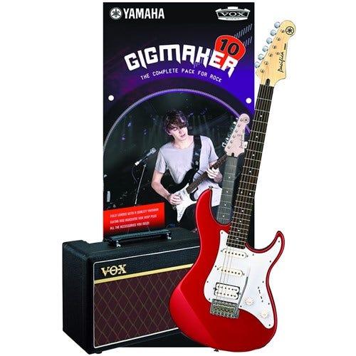 YAM GIGMAKER10RM - Yamaha GigMaker 10 Electric Guitar Kit (Red)