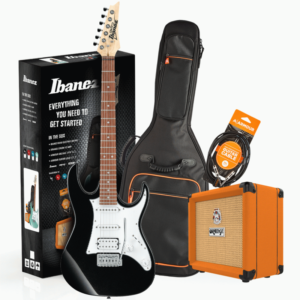 gtprx40bknpack 1 300x300 - Ibanez - RX40BKN Guitar Pack with Amp & Accessories (Black)